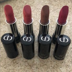 Dior Lipstick Bundle